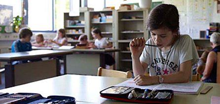 Schüler Und Schülerinnen Schreiben