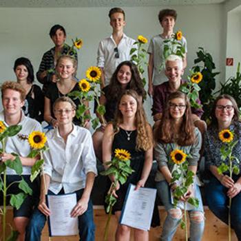 Herzlichen Glückwunsch Allen Absolventen!