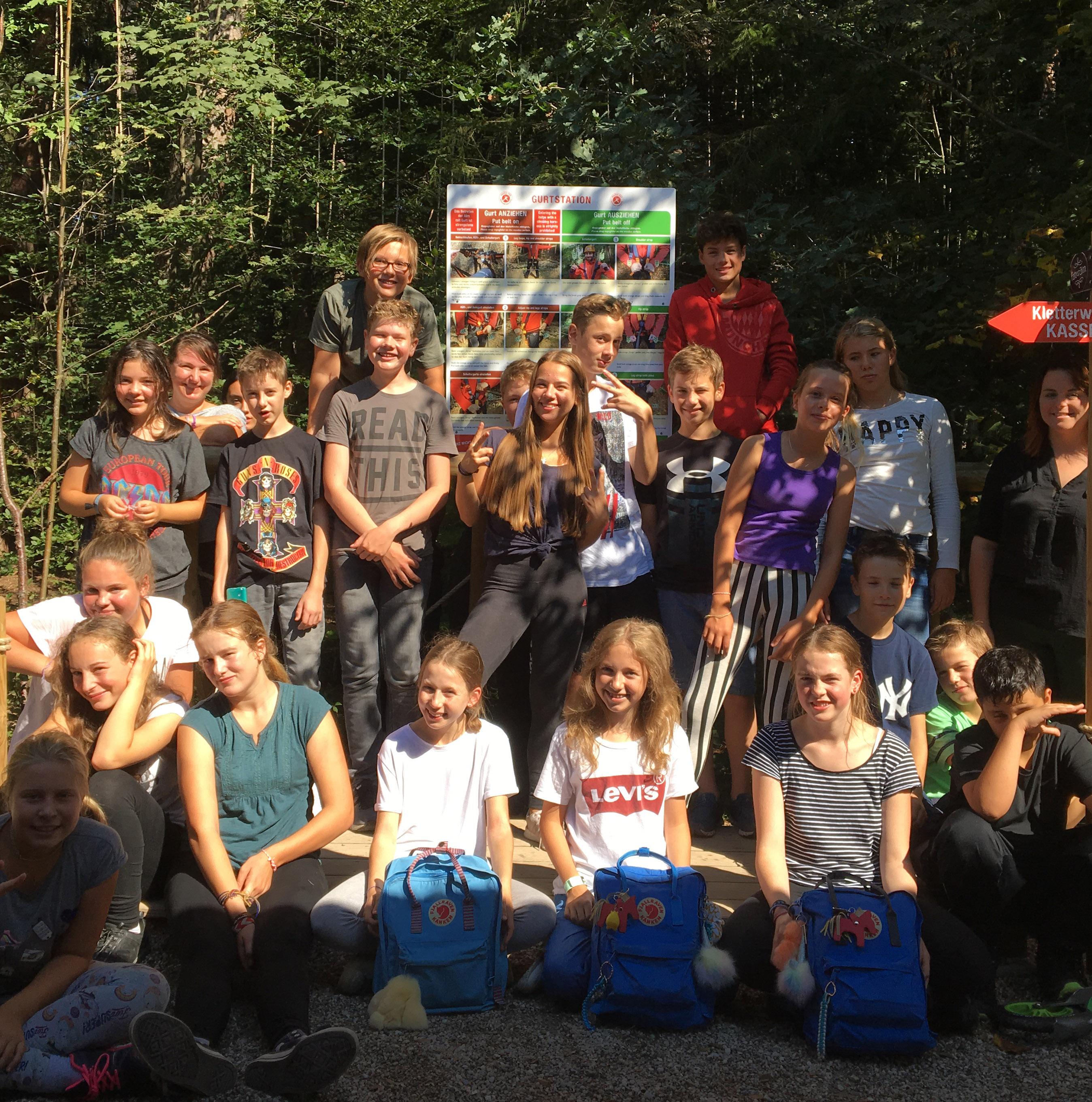 Ausflug In Den Kletterwald Nach Vaterstetten (Sonne 7 Und 8)