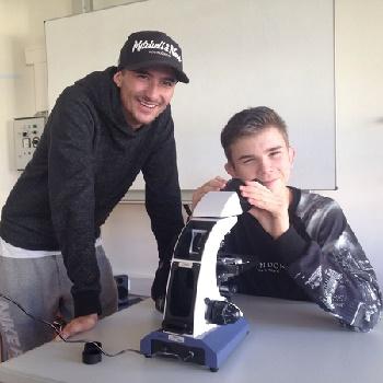 Mikroskope – Eine Bild Spende