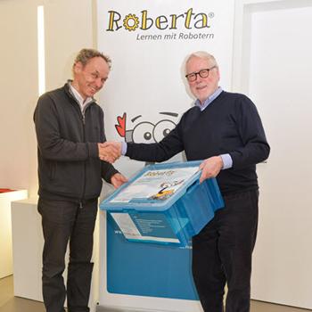 Spende Von Fünf Roberta-Boxen