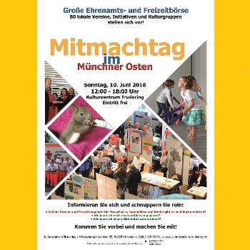 Großer Mitmach-Tag Im Kulturzentrum Trudering Mit EmiLe Beteiligung